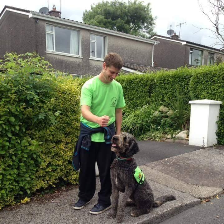 Εκπαίδευση σκύλου βοηθού